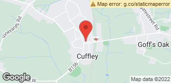 Map of Cut 'N' Dried Florist at 6 Maynards Place, Cuffley, Hertfordshire EN6 4JA