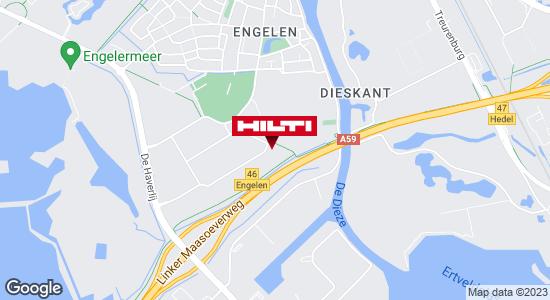 Krijg een routebeschrijving naar Hilti Store Den Bosch