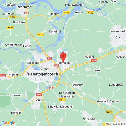Brabant Girls Cup 2021 map