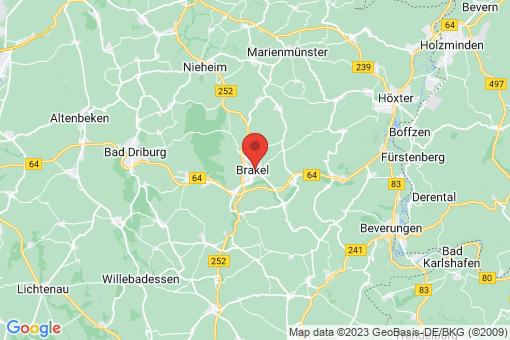 Karte Brakel