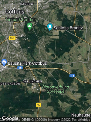 Google Map of Kiekebusch
