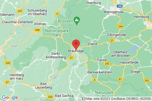 Karte Braunlage