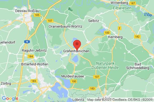 Karte Gräfenhainichen