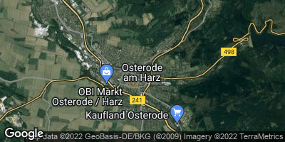 Google Map of Osterode