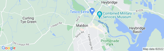 Map Of Maldon