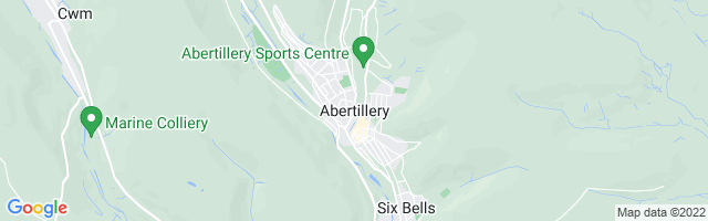 Map Of Abertillery