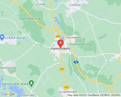 Google Karte von Rohrreinigung Hamminkeln
