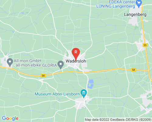 Google Karte von Rohrreinigung Wadersloh