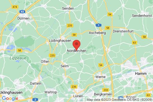 Karte Nordkirchen