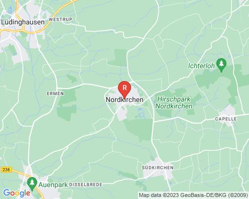 Google Karte von Rohrreinigung Nordkirchen