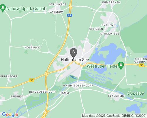 Google Karte von Schlüsseldienst Haltern am See