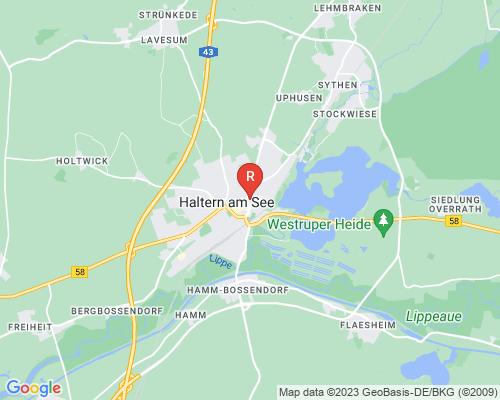 Google Karte von Rohrreinigung Haltern am See