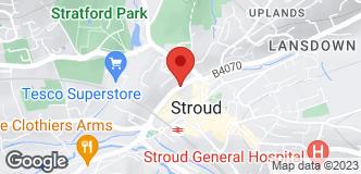 Halfords Stroud location