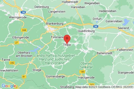 Karte Thale
