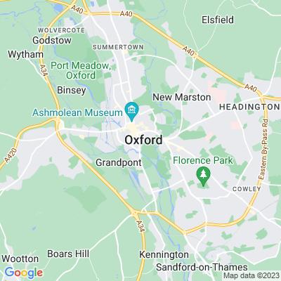 Christ Church, Oxford Location