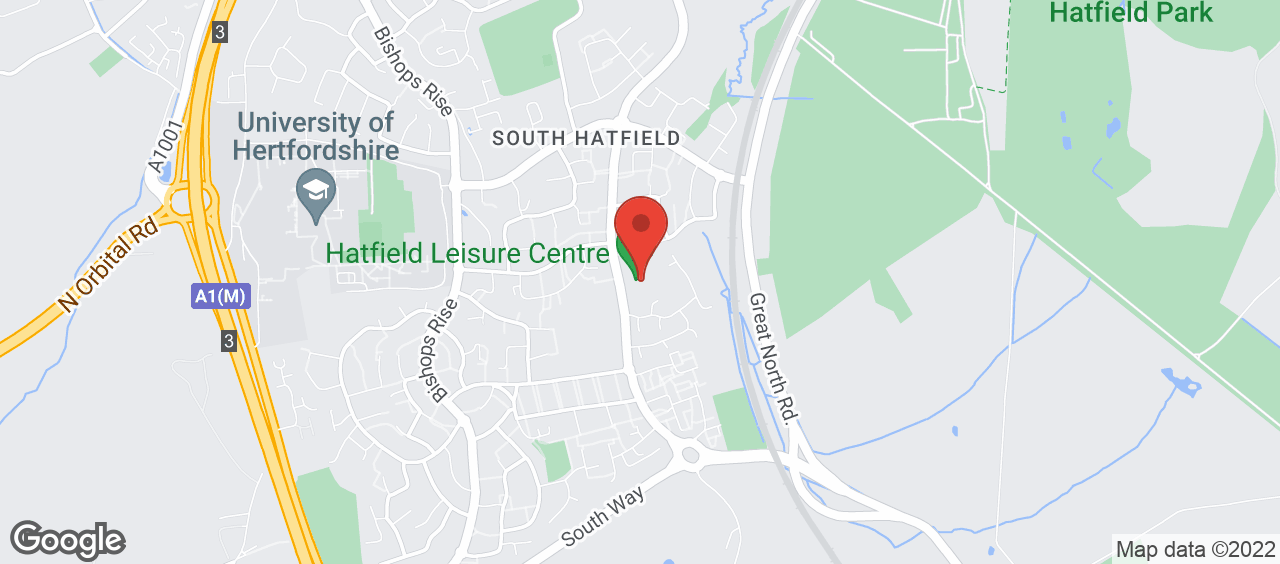 Hatfield Leisure Centre location and directions