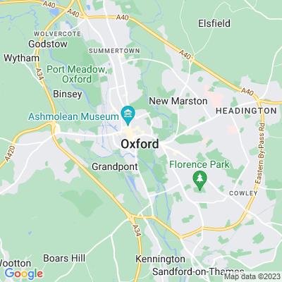 Corpus Christi, Oxford Location
