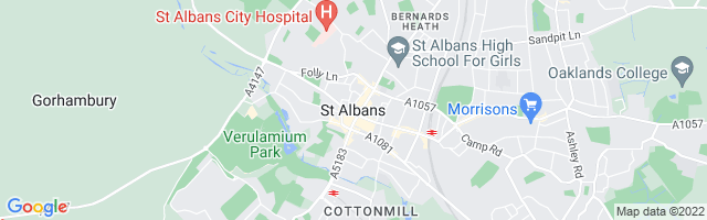 Map Of St. Albans