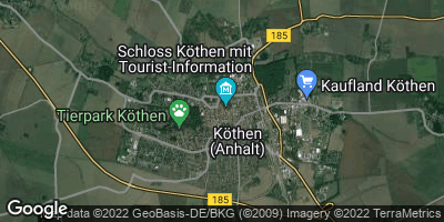 Google Map of Köthen