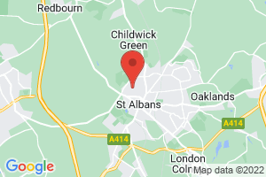 St. Albans City Hospital Staff Library on the map