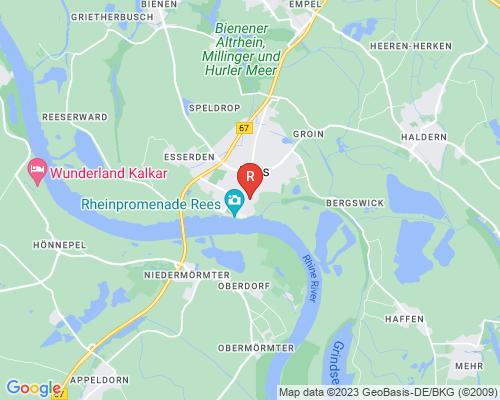 Google Karte von Rohrreinigung Rees