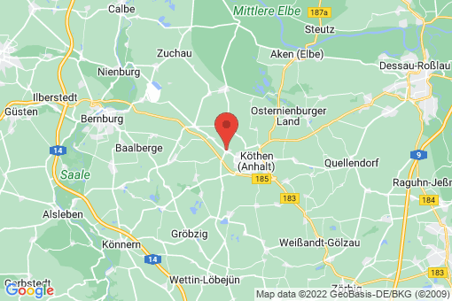 Karte Großpaschleben