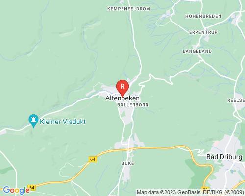 Google Karte von Rohrreinigung Altenbeken