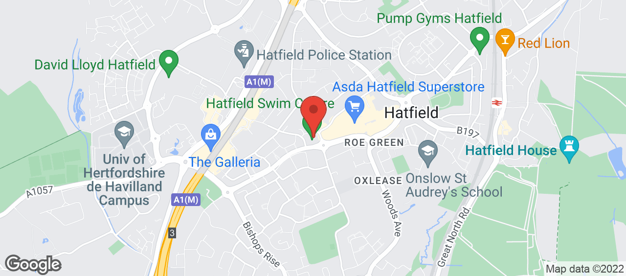 Hatfield Swim Centre location and directions