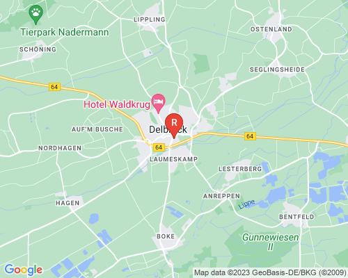 Google Karte von Rohrreinigung Delbrück