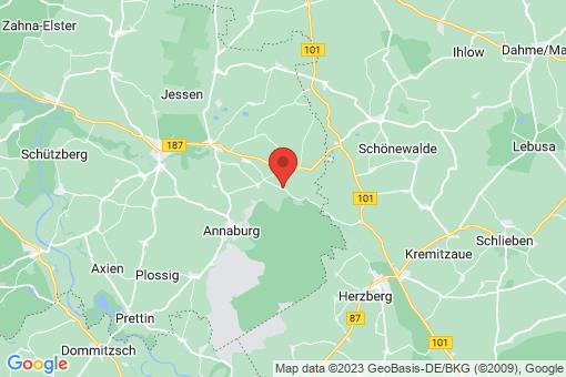 Karte Jessen (Elster) Kremitz