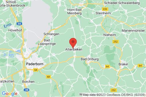 Karte Altenbeken
