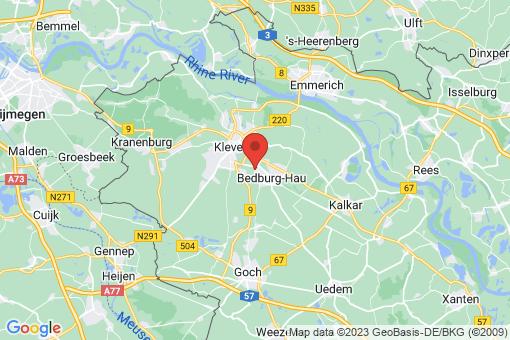Karte Bedburg-Hau