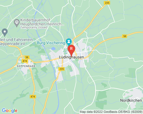 Google Karte von Rohrreinigung Lüdinghausen
