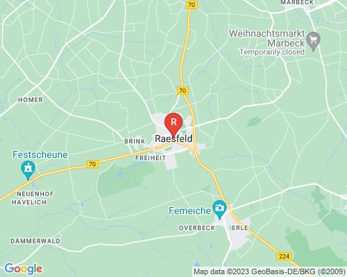Google Karte von Rohrreinigung Raesfeld