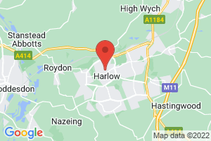 Harlow Healthcare Library on the map