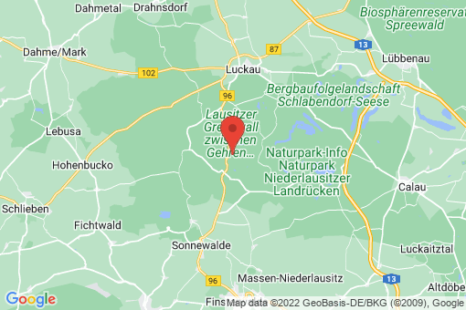 Karte Heideblick Bornsdorf