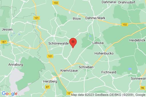 Karte Werchau