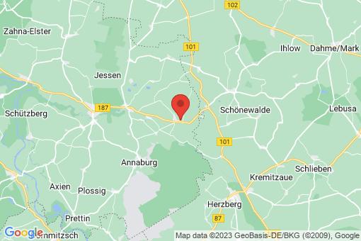 Karte Jessen (Elster) Holzdorf