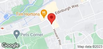 Halfords Harlow location