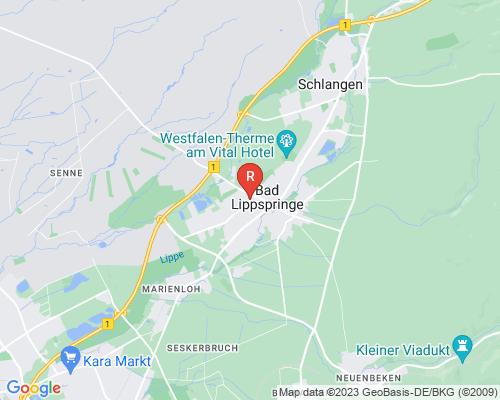 Google Karte von Rohrreinigung Bad Lippspringe