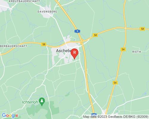 Google Karte von Rohrreinigung Ascheberg