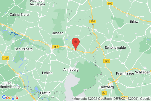 Karte Jessen (Elster) Mönchenhöfe