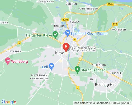 Google Karte von Rohrreinigung Kleve
