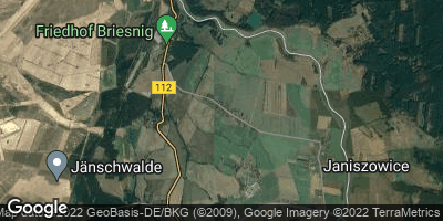 Google Map of Naundorf bei Forst