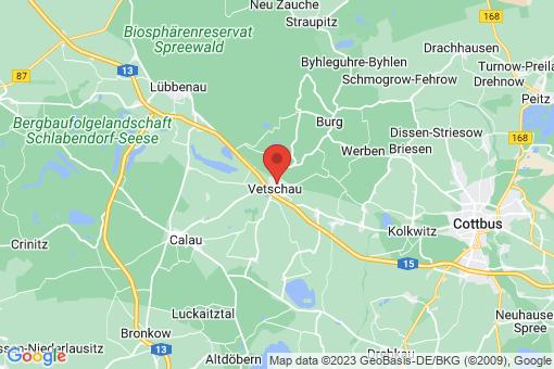 Karte Vetschau