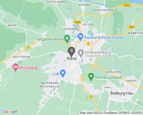 Google Karte von Schlüsseldienst Kleve