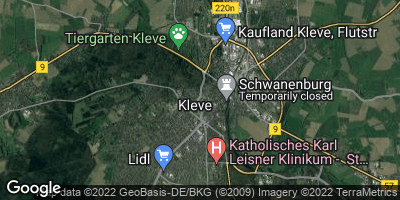 Google Map of Kleve