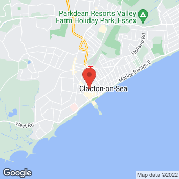 Map of wilko Clacton at 32-36 Station Road, Clacton On Sea,  CO15 1SX