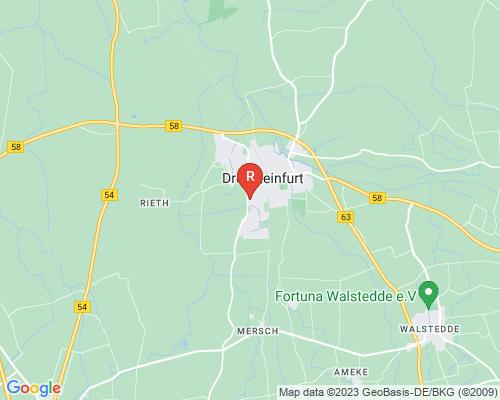 Google Karte von Rohrreinigung Drensteinfurt