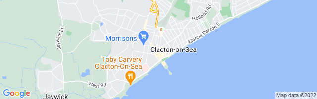 Map Of Clacton-on-Sea